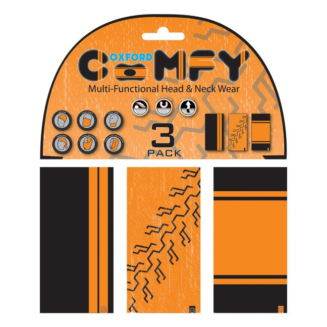 Oxford Comfy 3-Pack - HD Colours
