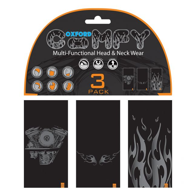 Oxford Comfy HD 3-Pack - Graphics