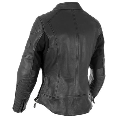 Oxford Beckley Women's Leather Jacket - Black