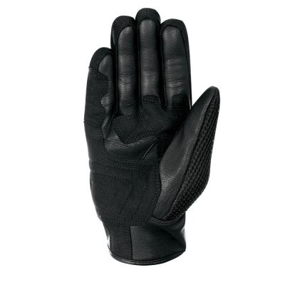 Oxford Brisbane Air Short Summer Gloves - Charcoal Black