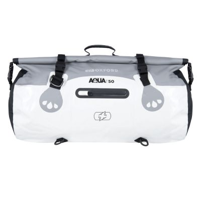 Oxford Aqua T-50 Roll Bag - Grey White