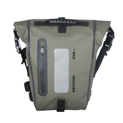Oxford Aqua T8 Tail Bag - Khaki Black