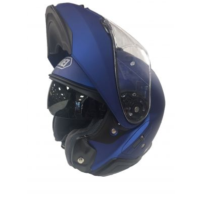 Shoei Neotec 2 Flip Front Helmet - Plain Matt Blue