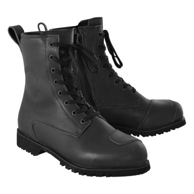 Oxford Merton Boots - Black