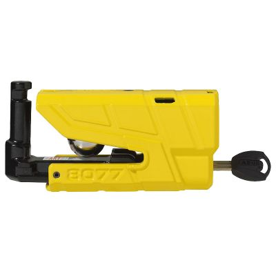 Abus Granit 8077 Detecto Alarmed Disc Lock side - Yellow