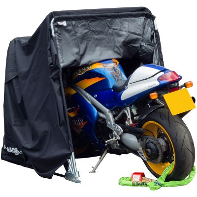 BikeIt RCOGRG04 Armadillo Motorcycle Garage Shelter - Medium
