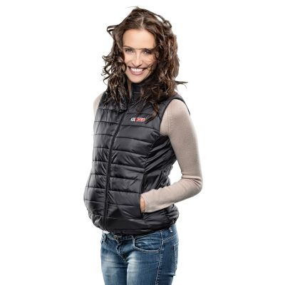 EXO2 ExoGlo 3 Ladies 12v Heated Body Warmer - Black - Modelled