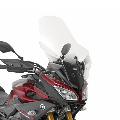 Givi 2122DT Clear Motorcycle Screen and Fitting Kit - Yamaha MT-09 Tracer (2015)
