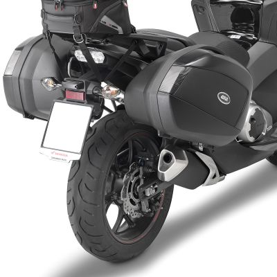 Givi PLX1149 Motorcycle Pannier Rails - Honda Integra 750 (2016) - Fitted With V35 Panniers