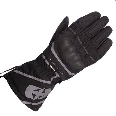 Oxford Montreal 100% Waterproof Motorcycle Glove - Stealth Black front