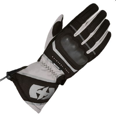 Oxford Montreal 100% Waterproof Motorcycle Glove - Tech Grey front