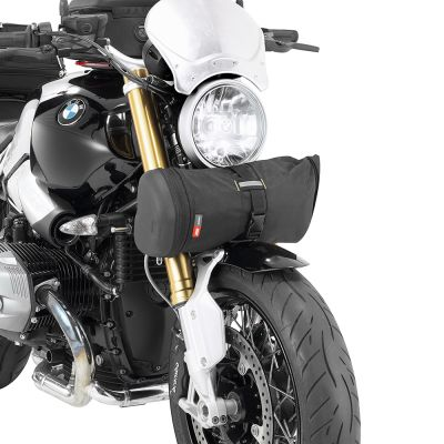 Givi 4Ltr Motorcycle Roll Bag - MT503 - Attached to front fork