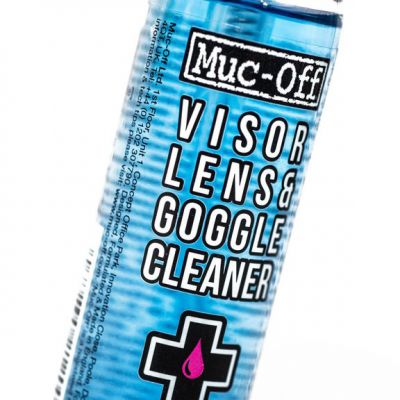 Muc-Off M212 Motorcycle Helmet and Visor cleaner - 30ml - Close up