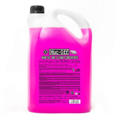 Muc-Off M348 Nano Tech Motorcycle Cleaner Concentrate - 5 Litres