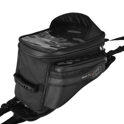 Oxford OL231 S20R Strap-On Motorcycle Tank Bag - 20 Litres - Rear