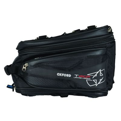 Oxford OL325 T40R Motorcycle Tail Bag - 40 Litres - Side
