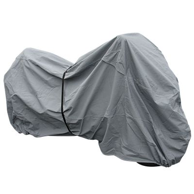Premium Motorcycle rain cover strapped