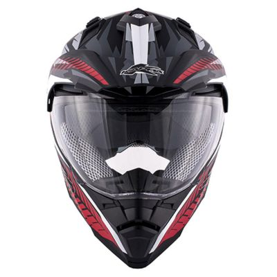 Kappa KV30 Enduro - Black/Red/White