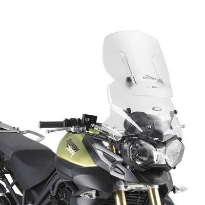 Givi AF6401 Airflow sliding screen fitted