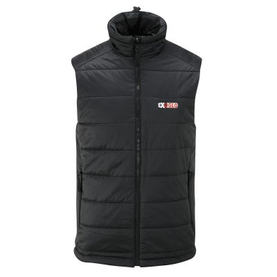 EXO2 ExoGlo 3 Ladies 12v Heated Body Warmer - Black - Front