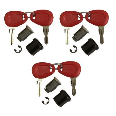 Givi Z228 Replacement Lock Set - Set of 3