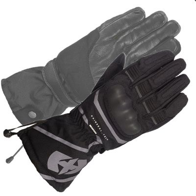 Oxford Montreal 100% Waterproof Motorcycle Glove - Stealth Black pair