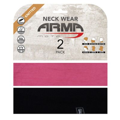 ARMR neckwear summer twin pack - Pink