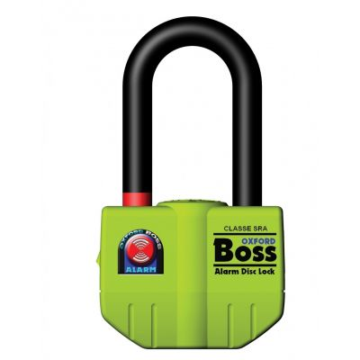 Oxford Boss Alarmed Disc Lock / Padlock - 14mm