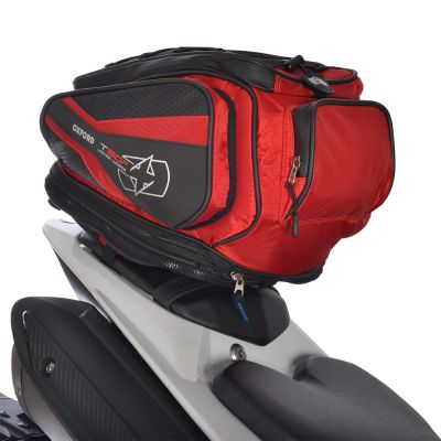 Oxford OL336 T30R Motorcycle Tail Pack 30 Litres - Red