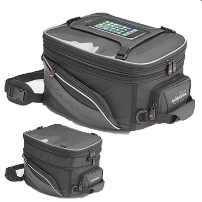 Kappa RA308R Expandable tank bag with Tanklock system 14-18Ltr