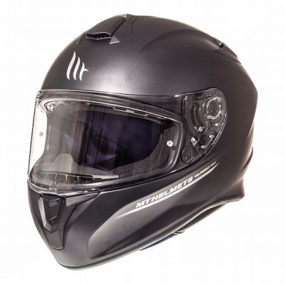 MT Targo Full Face Helmet - Solid Matt Black