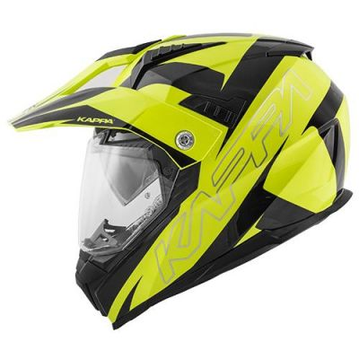 Kappa KV30 Enduro - Flash Gloss Blk/neon yellow