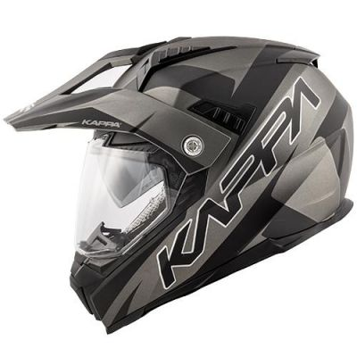 KV30 Enduro Flash Matt Black/Titanium side