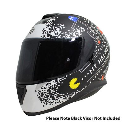MT Thunder 3 One Full Face Helmet - Black White