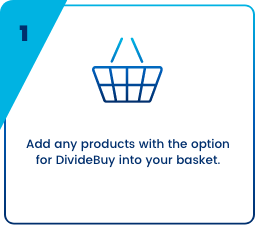 DivideBuy add products to your cart