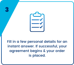 DivideBuy fill in your personal details
