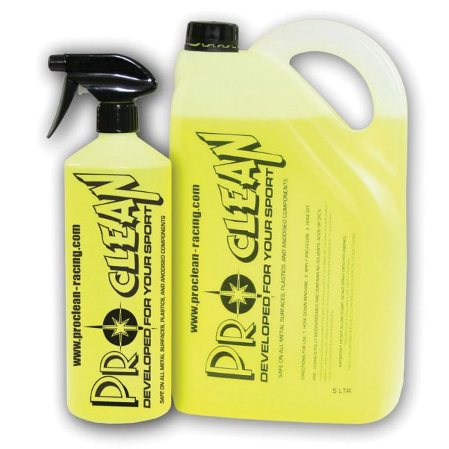 Pro-Clean cleaning fluid.