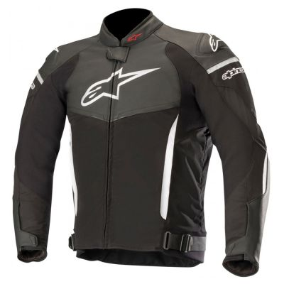 Alpinestars Sp X Leather & Textile Jacket - Black White