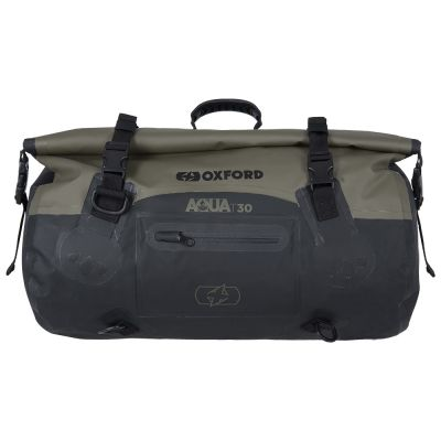 Oxford Aqua T-30 Roll Bag - Khaki Black