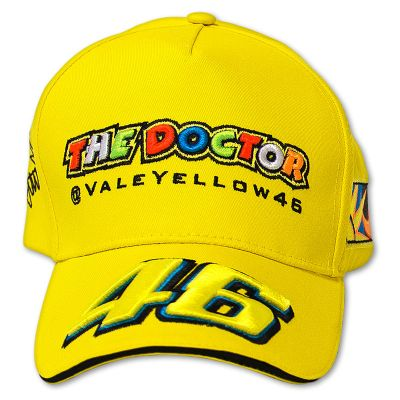 Official VR46 Valentino Rossi Kids Paddock cap - The Doctor