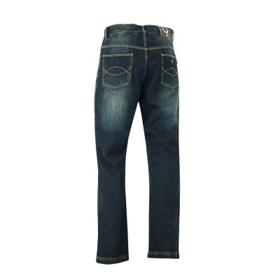Bull-It SR6 Motorcycle Jeans - Vintage Blue Mens - Rear