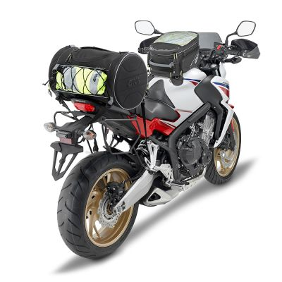Givi 35Ltr Motorcycle Roll Bag - EA107B - Fitted to Honda