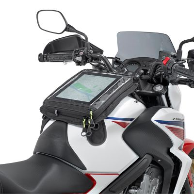 Givi Motorcycle Magnetic Tablet / Map Holder - EA112B - Fitted to Honda