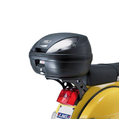 Givi E370NT Monolock Motorcycle Top Box Smoked Reflectors - 37 Litres - Fitted
