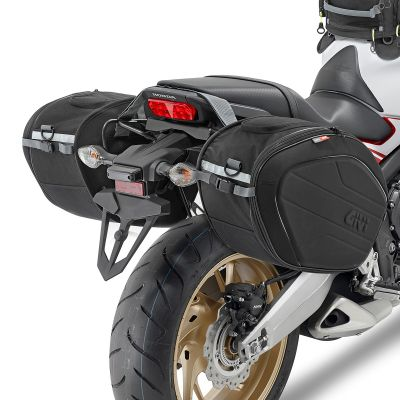 Givi EA100B Easy-T Expandable Panniers - 40 Litres - Fitted