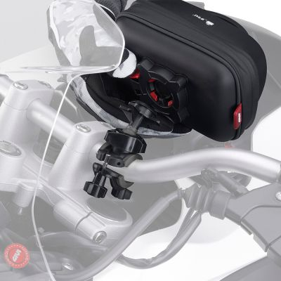 Givi S953B Motorcycle Smartphone / Sat Nav Holder - Quick Release Attachment