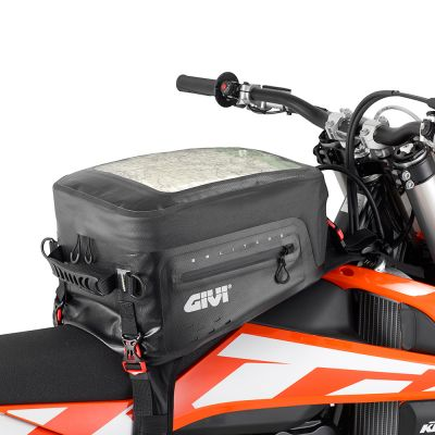 Givi 20Ltr Motorcycle Tank Bag - GRT705 - Fitted to Off Road Bike