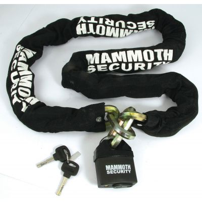Mammoth Lock and Chain - 12mm x 12mm x 1800mm