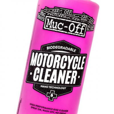 Muc-Off M664 Nano Tech Motorcycle Cleaner - 1 Litre - Close up