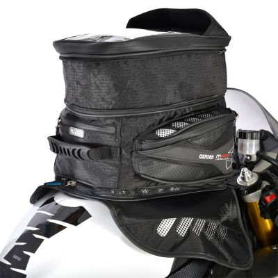 Oxford OL205 M40R Magnetic Motorcycle Tank Bag - 40 Litres - Expanded